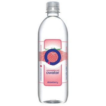 O Water O Ultra Premium Water, Twist of Strawberry, 20-Ounce Bottles (Pack of 12)