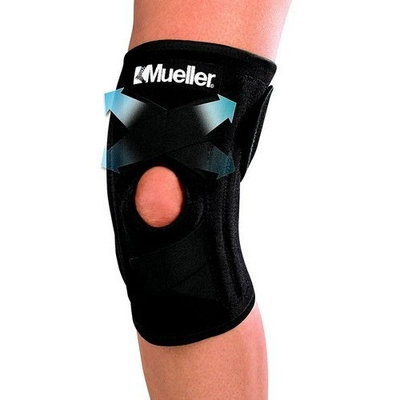 Mueller Self Adjusting Knee Stabilizer, One Size Fits Most, 1-Count Package
