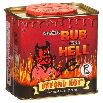 Ass Kickin Rub From Hell, 4.25-Ounce Cans (Pack of 6)