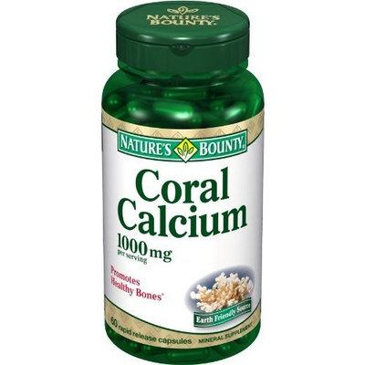 Nature's Bounty Coral Calcium, 1000mg, 60 Capsules