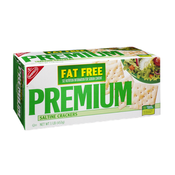Nabisco Premium Fat Free Saltine Crackers