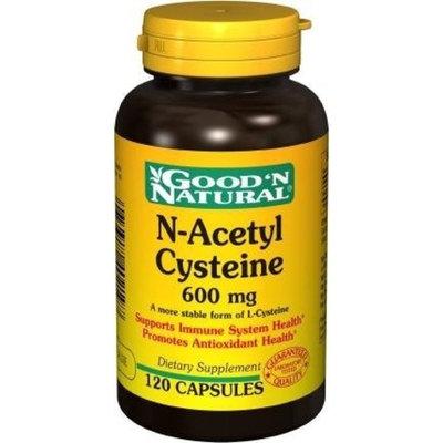 Good 'N Natural N-Acetyl Cysteine 600 mg - 120 caps,(Good'n Natural)