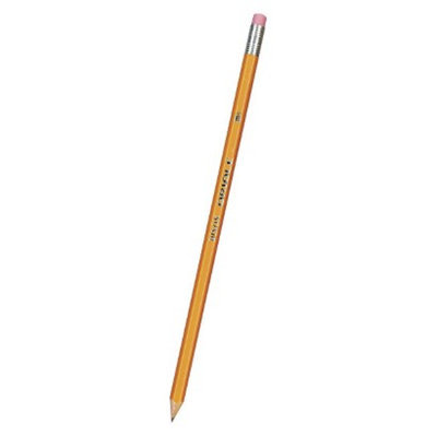 Dixon Ticonderoga Dixon Oriole Woodcase Pencil, HB #2 - Yellow Barrel (72 Per Pack)