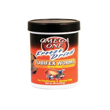 Omega OneTM Freeze Dried Tubifex Worms Nutri-TreatTM