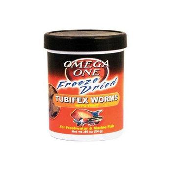 Omega OneTM Freeze Dried Tubifex Worms Nutri-TreatTM