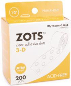 Therm O Web 37-86 Zots Clear Adhesive Dots