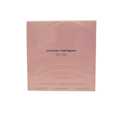 Narciso Rodriguez For Her Purse Spray 4x15ml