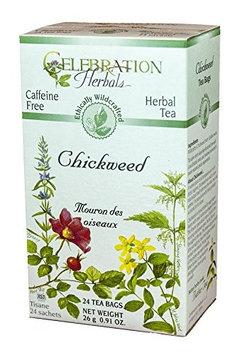 Celebration Herbals Herbal Tea Caffeine Free Chickweed 24 Tea Bags