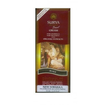 Surya Brasil: Natural Henna Cream, Black 2.31 oz