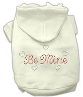 Mirage Pet Products 5412 XXLCR Be Mine Hoodies Cream XXL 18