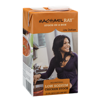 Rachael Ray Stock-In-A-Box Chicken Stock Low Sodium