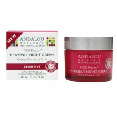 Andalou Naturals 1000 Roses Heavenly Night Cream, 1.7 fl oz