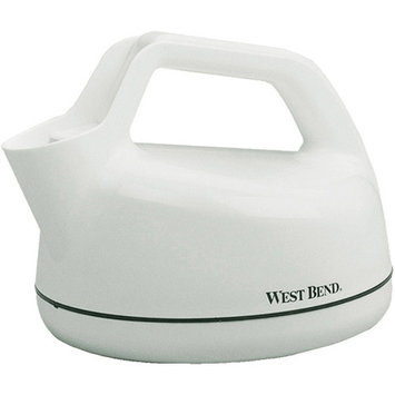 West Bend 6400 1 Quart Electric Whistling Teakettle
