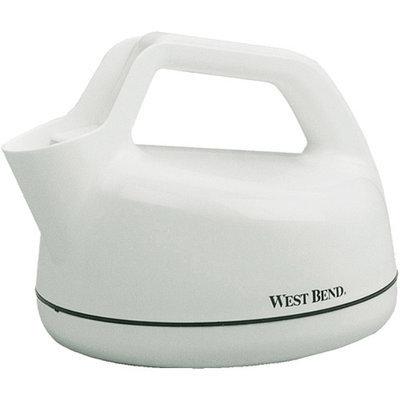 West Bend 6400 1 Quart Electric Whistling Teakettle