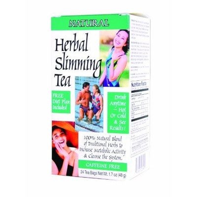 21st Century Vitamins 21st Century Herbal Slimming Tea Natural 24 Bags / 3 Count
