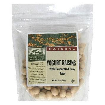 Woodstock Farms All Natural Yogurt Raisin, 8.5 Ounce -- 8 per case.