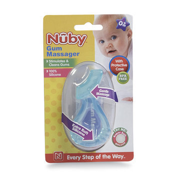 Nuby Infant's Gum Massager/Teether - LUV N' CARE, LTD.