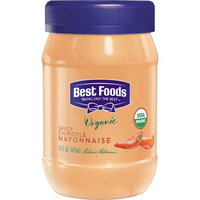 Unilever Best Foods Organic Spicy Chipotle Mayonnaise, 15 oz