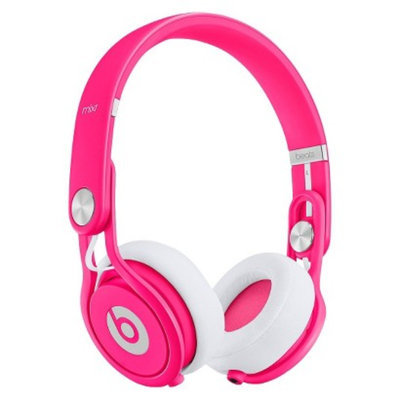 BEATS by Dr. Dre Beats by Dre Mixr Headphones - Neon Pink