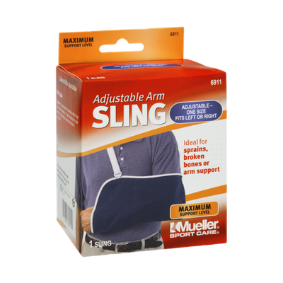 Mueller Sport Care Maximum Support Level Adjustable Arm Sling