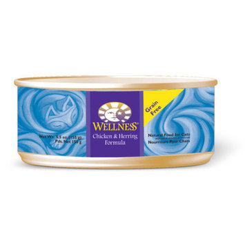 Wellness Chicken and Herring Formula Canned Cat Food