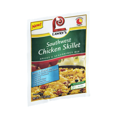 Lawry's Southwest Chicken Skillet Spices & Seasonings Mix