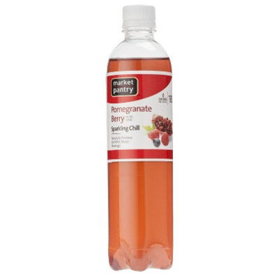 market pantry Market Pantry Pomegranate Berry Sparkling Chill Water Beverage 17 oz