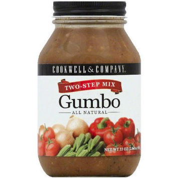 Cookwell & Company Gumbo Soup Mix, 33 oz, (Pack of 6)