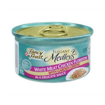 Purina Fancy Feast Elegant Medleys White Meat Chicken Florentine Gourmet Cat Food