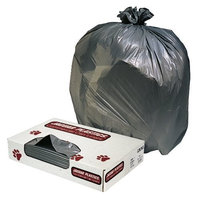 Jaguar 098241128706 LLDPE Resin Waste Can Liners, 1.1 Mil, Flat Seal, 38
