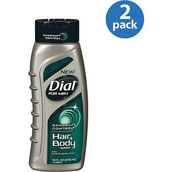 Dial For Men Dandruff Control Hair + Body Wash