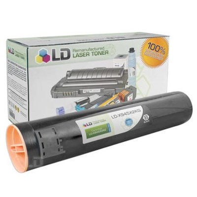 LD © Remanufactured High Yield Black Laser Toner Cartridge for Lexmark X945X2KG