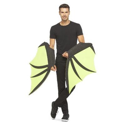 Chris March: Big Fun - Giant Foam Bat Wings - Green/Black