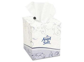 Georgia Pacific Facial Tissue Premium, Cube Box, 96 Sheets/Box, White