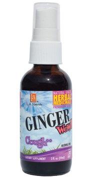 Ginger Wow Cough Spray, 2 oz, L.A. Naturals