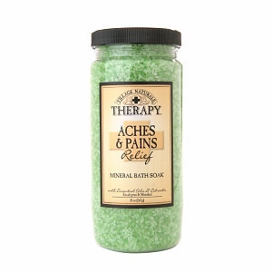 Village Naturals Therapy Aches & Pains Relief Mineral Bath Soak