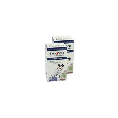 Easystep Easy Step Blood Glucose Test Strips - 100 ea
