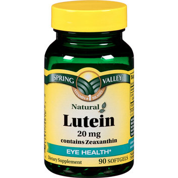 Spring Valley Eye Health* Lutein 20 MG 90 CT