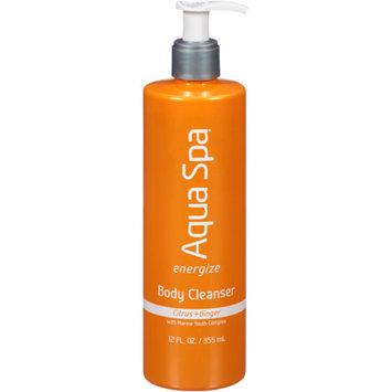 AQUA SPA Aqua Spa Citrus + Ginger Energize Body Cleanser, 12 fl oz