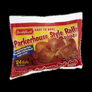 Bridgford Parkerhouse Style Dough Rolls - 24 CT