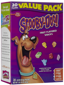 Betty Crocker Scooby-Doo Fruit Snacks