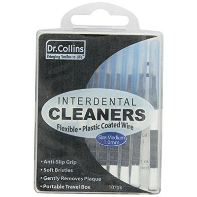 Dr. Collins Interdental Clearners Medium, 10 Count Packages