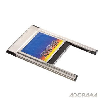 Adorama Compact Flash Memory Card Adapter, Compact Flash I or II to Notebook PCMCIA Type 2.