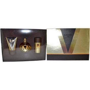 Usher Vip Men Eau-de-toilette Spray, Shower Gel, Deodorant Stick by Usher