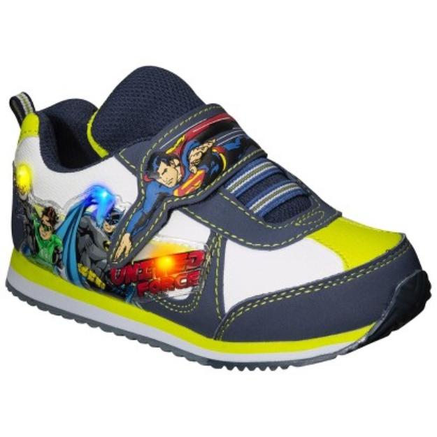 Toddler Boy's Justice League Light Up Sneaker - Multicolor 6