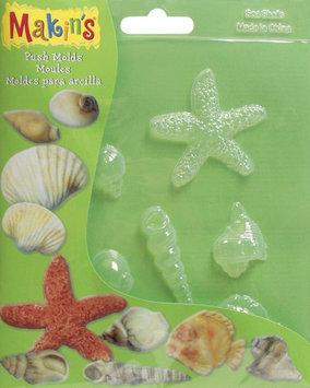 Makin's Clay Push Molds-Sea Shell