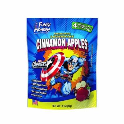 Funky Monkey Snacks, Legendary Cinnamon Apples, Captain America, 1.5 Ounce