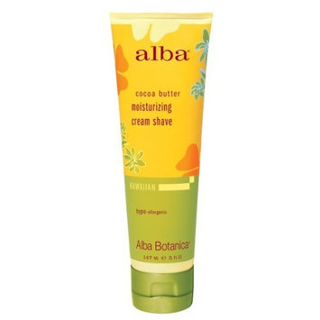 Alba Botanical Cocoa Butter Moisturizing Cream Shave
