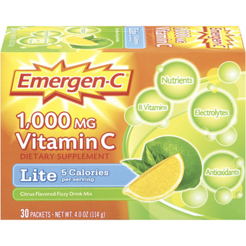 Emergen-C Lite Citrus Vitamin C Fizzy Drink Mix
