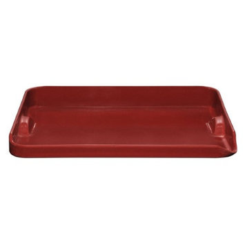 Emile Henry Red Plancha Grill 39X31cm-RED-One Size